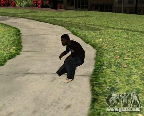 Black Madd Dogg (Thug life) para GTA San Andreas tercera pantalla