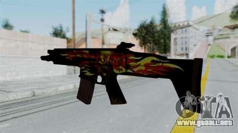 SCAR-L Extra PJ para GTA San Andreas segunda pantalla