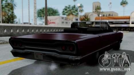 Savanna Gold Digger para la visión correcta GTA San Andreas