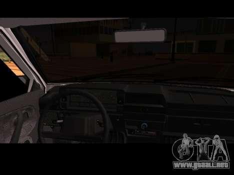 VAZ 21099 Coche Sin Red de Aterrizaje para la visión correcta GTA San Andreas