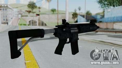 GTA 5 Carbine Rifle para GTA San Andreas segunda pantalla