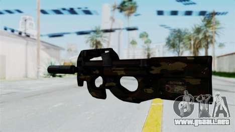 P90 Camo1 para GTA San Andreas segunda pantalla