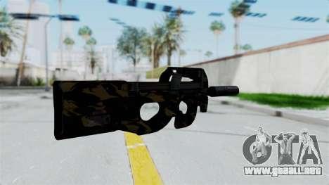 P90 Camo2 para GTA San Andreas segunda pantalla