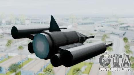 TCFU Spaceship para GTA San Andreas left