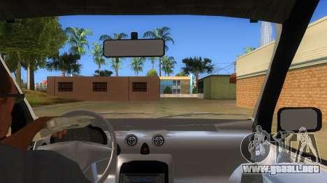 Hyundai Atos 2006 para visión interna GTA San Andreas