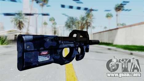 P90 Camo3 para GTA San Andreas segunda pantalla