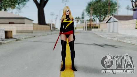 Marvel Future Fight - Ms. Marvel para GTA San Andreas segunda pantalla