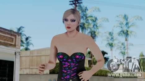 Female Skin 1 from GTA 5 Online para GTA San Andreas
