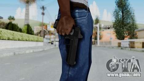 GTA 5 Heavy Pistol - Misterix 4 Weapons para GTA San Andreas