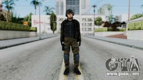 Serbian Zandarmerija para GTA San Andreas segunda pantalla