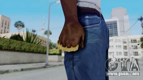 The Ballas Knuckle Dusters from Ill GG Part 2 para GTA San Andreas tercera pantalla