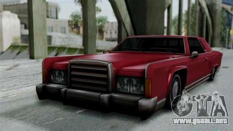 Remington Las Vivas para GTA San Andreas