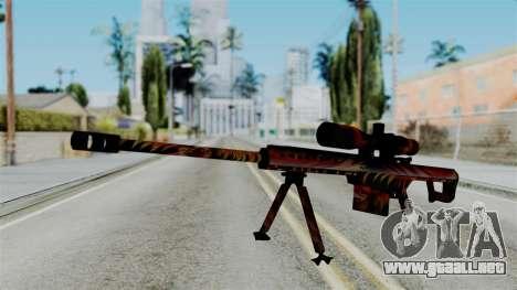 Barret 50.cal Phoenix para GTA San Andreas