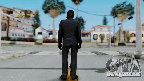 John Wich - Payday 2 para GTA San Andreas tercera pantalla