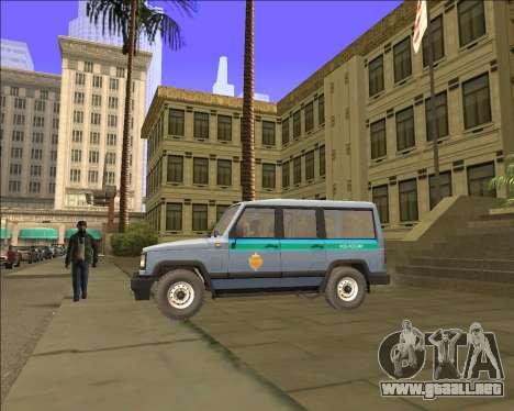 LA UAZ 3170 FSB para GTA San Andreas left