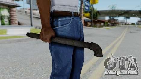 No More Room in Hell - Lead Pipe para GTA San Andreas tercera pantalla