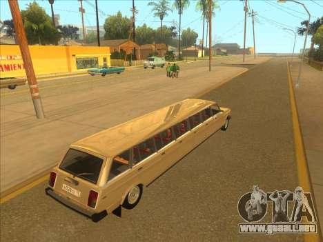 VAZ 2104 13-door para la visión correcta GTA San Andreas