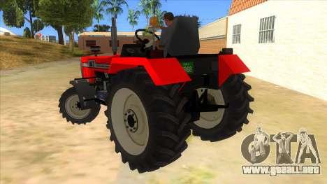 IMT Traktor para GTA San Andreas vista posterior izquierda