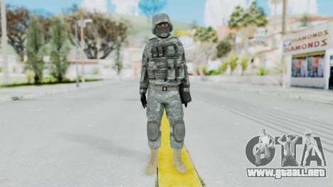 Acu Soldier 2 para GTA San Andreas segunda pantalla