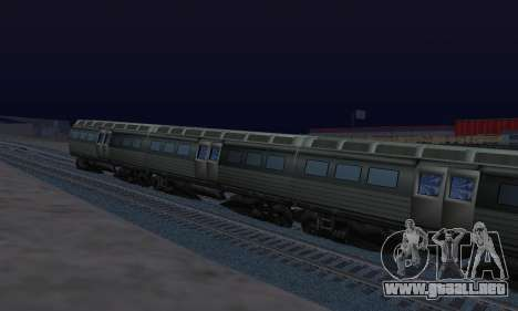 Batman Begins Monorail Train Vagon v1 para la visión correcta GTA San Andreas