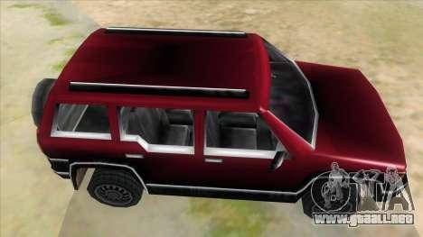 GTA III Landstalker para visión interna GTA San Andreas