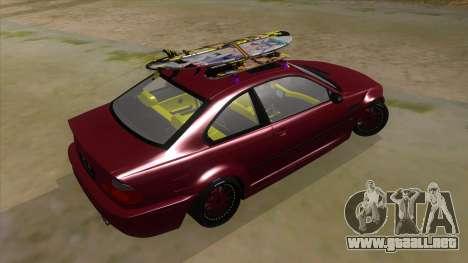 BMW M3 E46 Lily Itasha para la visión correcta GTA San Andreas