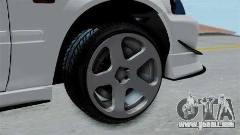 Honda Civic Hatchback para GTA San Andreas vista posterior izquierda