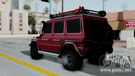 Mercedes-Benz G500 Off-Road v2.0 para GTA San Andreas left