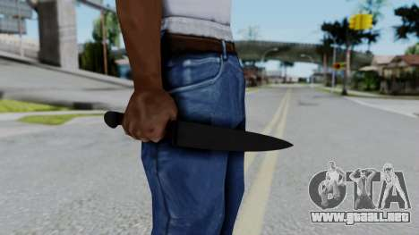 No More Room in Hell - Kitchen Knife para GTA San Andreas