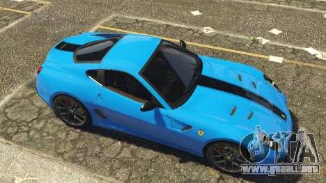 GTA 5 Ferrari 599 GTO[Replace] vista lateral izquierda