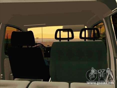 GAZ 33023 NORD para la visión correcta GTA San Andreas