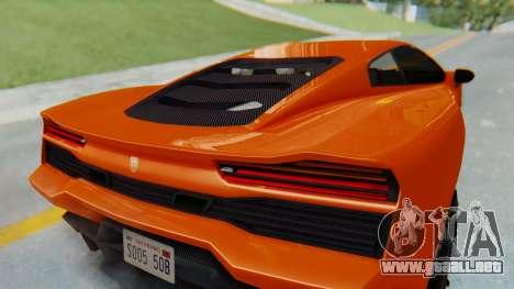 GTA 5 Pegassi Vacca IVF para visión interna GTA San Andreas