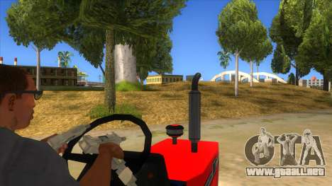 IMT Traktor para visión interna GTA San Andreas