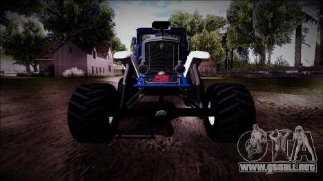 GTA 5 Albany Franken Stange Monster Truck para la vista superior GTA San Andreas