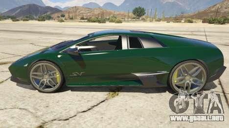 2010 Lamborghini Murcielago LP 670-4 SV para GTA 5