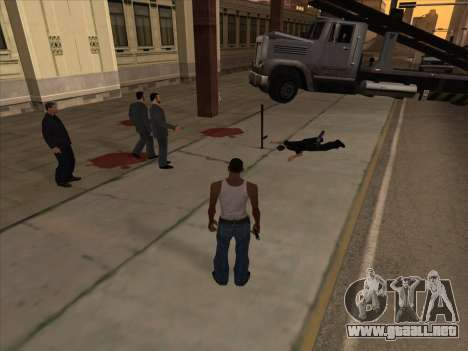 Los rusos en el distrito de Compras de la v2 para GTA San Andreas sexta pantalla
