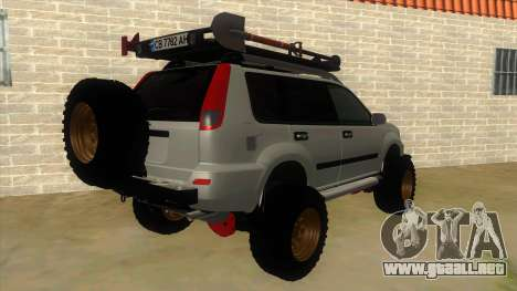 Nissan X-Trail 4x4 Dirty by Greedy para la visión correcta GTA San Andreas