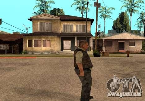 Sidorovich de S. T. A. L. K. E. R para GTA San Andreas segunda pantalla