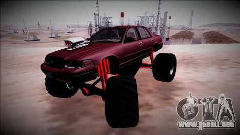 2003 Ford Crown Victoria Monster Truck para GTA San Andreas interior