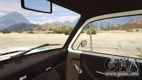 GTA 5 SUV VAZ-2121 vista lateral trasera derecha