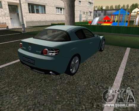 Mazda RX-8 para la visión correcta GTA San Andreas