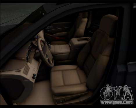 Chevrolet Suburban 2015 para la visión correcta GTA San Andreas