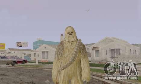 Chewbacca para GTA San Andreas