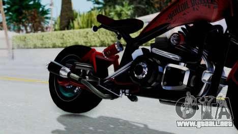 Turbike 3.0 para la visión correcta GTA San Andreas