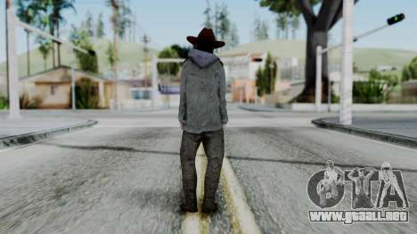 Carl Grimes from The Walking Dead para GTA San Andreas tercera pantalla