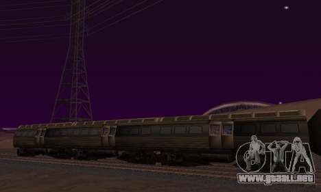 Batman Begins Monorail Train Vagon v1 para GTA San Andreas left