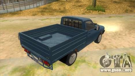Dacia 1305 Drop-Side para la visión correcta GTA San Andreas