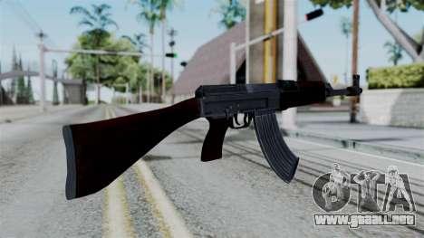 No More Room in Hell - CZ 858 para GTA San Andreas tercera pantalla