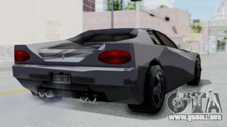 GTA LCS Cheetah para la visión correcta GTA San Andreas