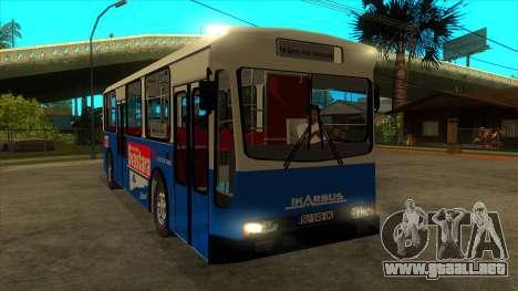 Ikarbus - Subotica trans para GTA San Andreas vista hacia atrás